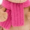 IGEL-Mädchen mit Schal und Mütze 20-25cm
