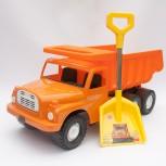 TATRA 148 Kipper 72cm orange mit Schaufel