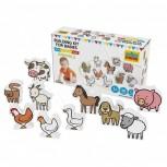 Tiere Bauernhof 10-teiliges Set